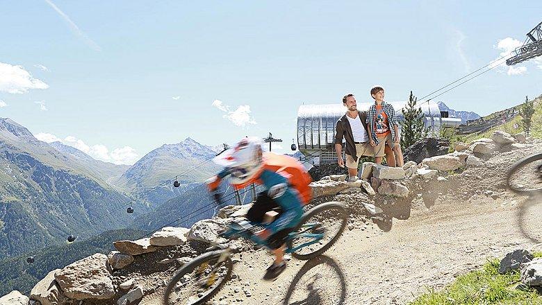 Bike- und Radunterkunft