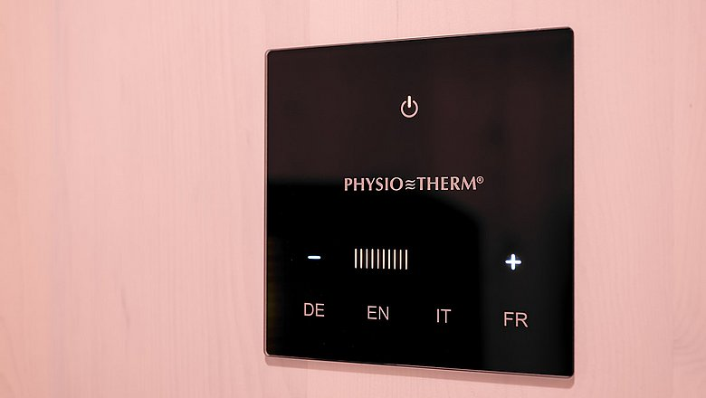NEW: Physiotherm infrared cabin
